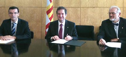Firma de la Carta Internacional del Caminar