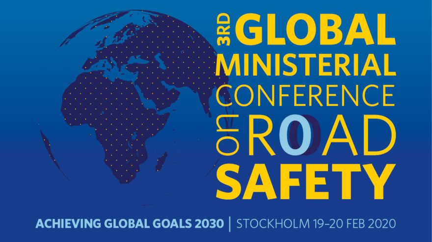 P(A)T asiste a la 3ª Conferencia Ministerial para la Seguridad Vial que tendrá lugar los días 19 y 20 de febrero en Estocolmo